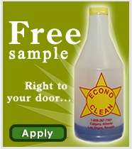 Free Sample Of Econo-Clean