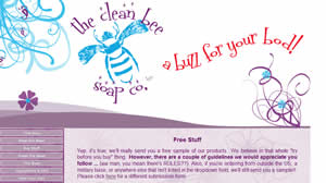 Free Clean Bee Soap Samples