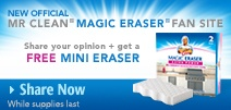 Free Sample of Mr Clean Mini Magic Eraser