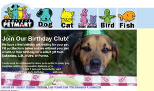 Free Birthday Gift For Your Pet