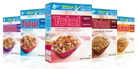 Free Sample of Total® Cranberry Crunch Cereal