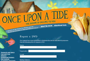 Free Once Upon a Tide DVD