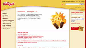 Kellogg Special Promotions