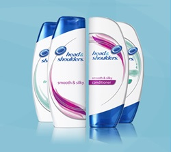 Free Sample of Head & Shoulders Shampoo and Conditioner