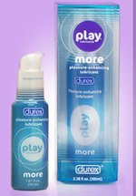 Free Sample of Play Lubricant By Durex