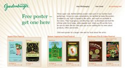 Free Posters from Gardenburger