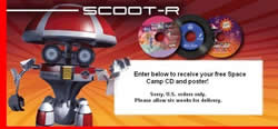 Free Space Camp CD and Poster
