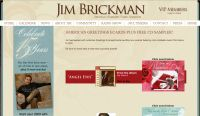 Free Jim Brickman Sending You Love CD Sampler