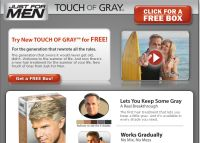 Free Box of Just For Men Touch Of Gray