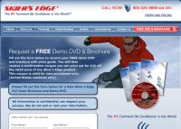 Free Skier's Edge Demo DVD and Brochure