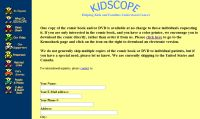 Free Kidscope Kemo Shark Comic Book and DVD