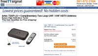 Free Digital TV Converter Box and Antenna