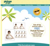 Free Portrait Package at Picture People