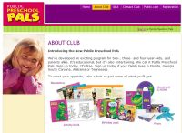 Free Publix Preschool Pals CD and Activity Book