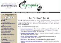 Free &quot;My Money&quot; Tool Kit