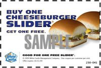 Free White Castle Buy One Get One Coupon