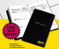 Free 2010 Pocket Planner from apc.com