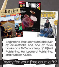 Free Drum Gift Pack