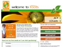Free Packet of Seeds from Collective Roots