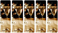Free Martini Party Bookmarks
