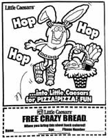 little caesars coloring pages free crazy bread from little caesars for kids i crave