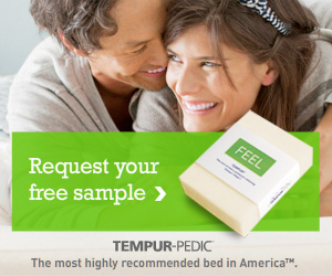FREE Tempurpedic Foam Mattress Sample - I Crave Freebies
