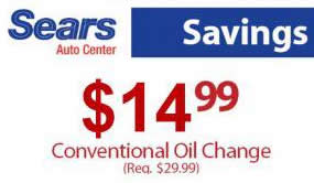 One of the coupons is the Sears oil change coupon that ensures you pay less for your oil changes. This coupon is essential as it ensures your oil is changed at a discounted price as you enjoy high quality services of Sears Auto centers. However getting the coupon may sometimes become a problem as many customers are not aware of its existence.