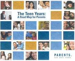 Addresses phases of teen development, warning signs of pressured teens, ...