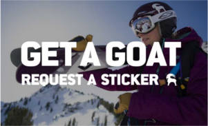 Backcountry.com Goat Sticker