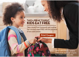 Kids Eat Free At Olive Garden Party Of Four Room For