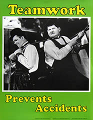 Laurel-and-Hardy-Safety-Poster