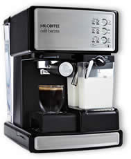 Why my coffee machine not give a froth? - Mr. Coffee Cafe Barista Espresso Maker with Automatic ...