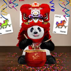 panda express learn with me - Panda Express Chinese New Year