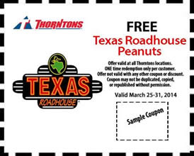 picture about Texas Roadhouse Coupons Printable titled Texas roadhouse discount codes printable august 2018 - American