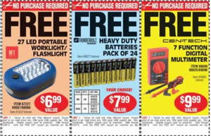 harbor freight free coupons no purchase necessary 2017