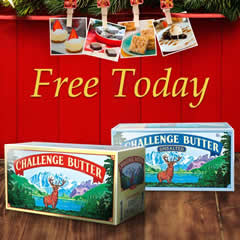 Free Challenge Butter At 3pm Est I Crave Freebies