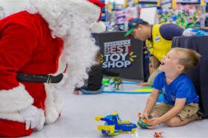 FREE Photo with Santa at Walmart