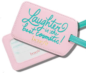 Benefit-Cosmetics-Luggage-Tag