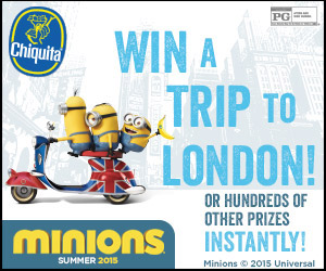 The Chiquita Minions Sweepstakes & Instant Win Promotion - I
