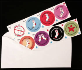 Make Your Sock Stand Stickers