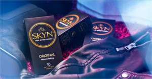 FREE SKYN Condom Sample