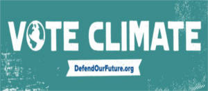 FREE Vote Climate Stickers