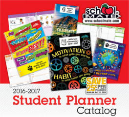 Free 2016-2017 school mate catalogs, planner & folder samples for.