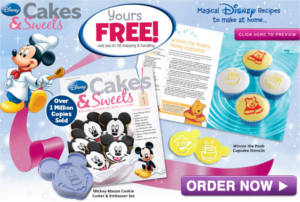 FREE Disney Cakes & Sweets Welcome Package!