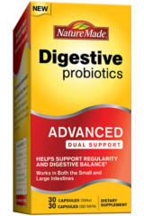 FREE Nature Made Advanced Dual Support Probiotic Sample