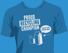 FREE Carton Council T-shirt and Recycle Watch Toolkit
