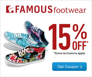 photograph relating to Famous Footwear Printable Coupon referred to as Popular Shoes - 15% OFF Printable Coupon - I Crave Freebies