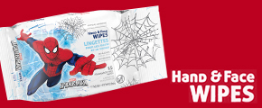 Hand & Face Wipes Chat Pack