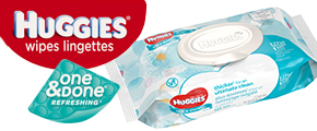 Huggies One & Done Wipes Chat Pack