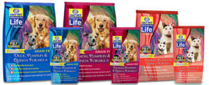 Formulas for Life Dog and Cat Food